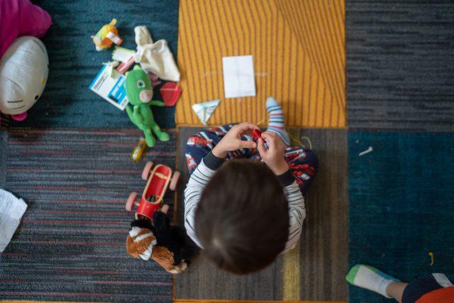 Odpowiednie zabawki dla dzieci